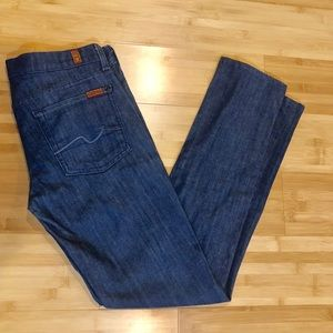 7 For All Mankind Roxanne Skinny Jeans Inseam 31""